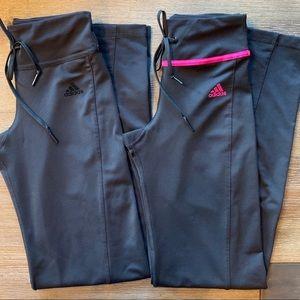 Set of Women's Yoga-type Adidas Pants